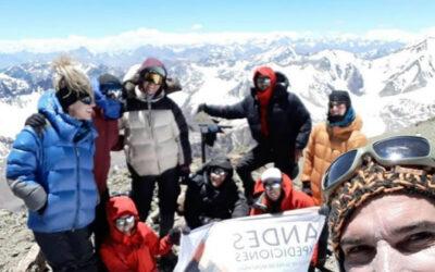 Cerro Plata 5968 masl. Expedition. Mendoza
